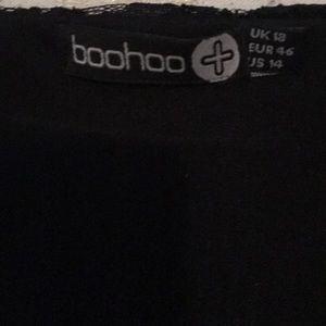 1ff91e97e30f Boohoo Plus Dresses - Boohoo Plus Alicia Lace Wrap Front Dress UK 18